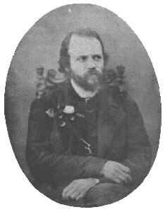 Charles-Valentin Alkan photographed around 1850, the only known photographic portrait of the composer