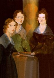 Anne, Emily & Charlotte Bront� painted by their brother Branwell