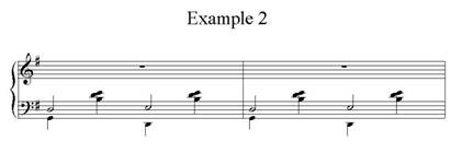 Gershwin Example 2: Stride Bass with counter melody
