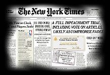 New York Times impeachment special